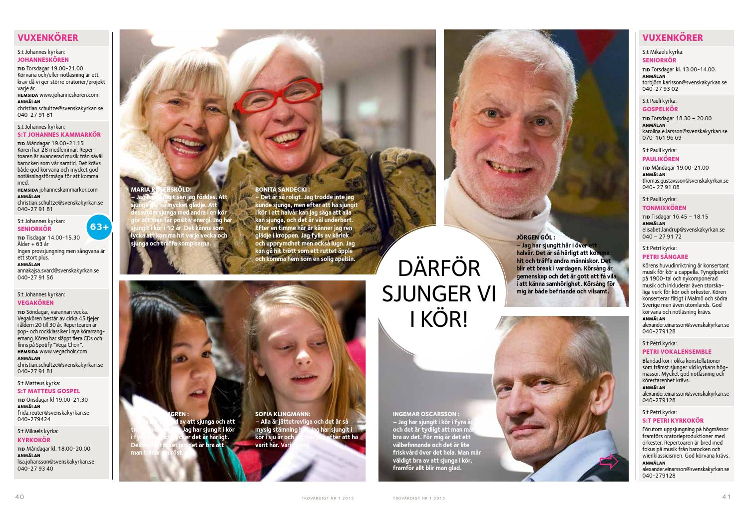 Ungdomskrer - Svenska kyrkan Malm