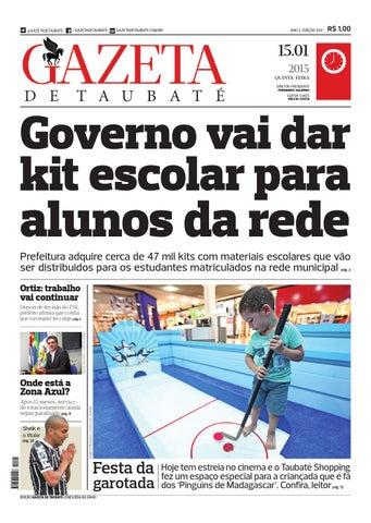 Gazeta - 15.01 by Gazeta de Taubaté - issuu 0ed45e75c84bd