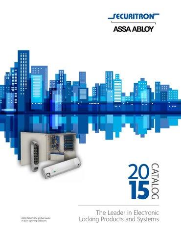 """Securitron TSB-3BK Touch Sense Bar Black Anodized 36/"""" w// Hardware"""
