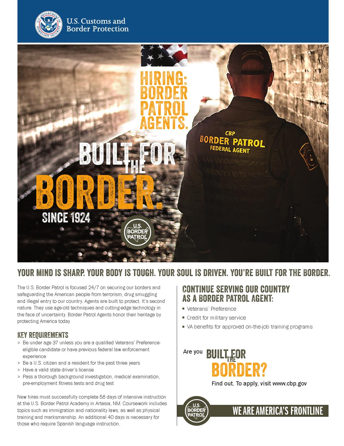 Border patrol flyer vets pp01 by CT Guard RSP - issuu