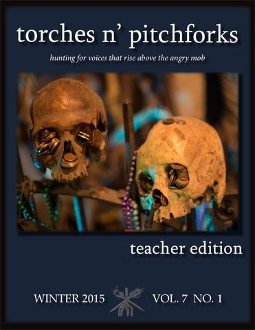 Torches n' pitchforks, teacher edition, winter 2015 by