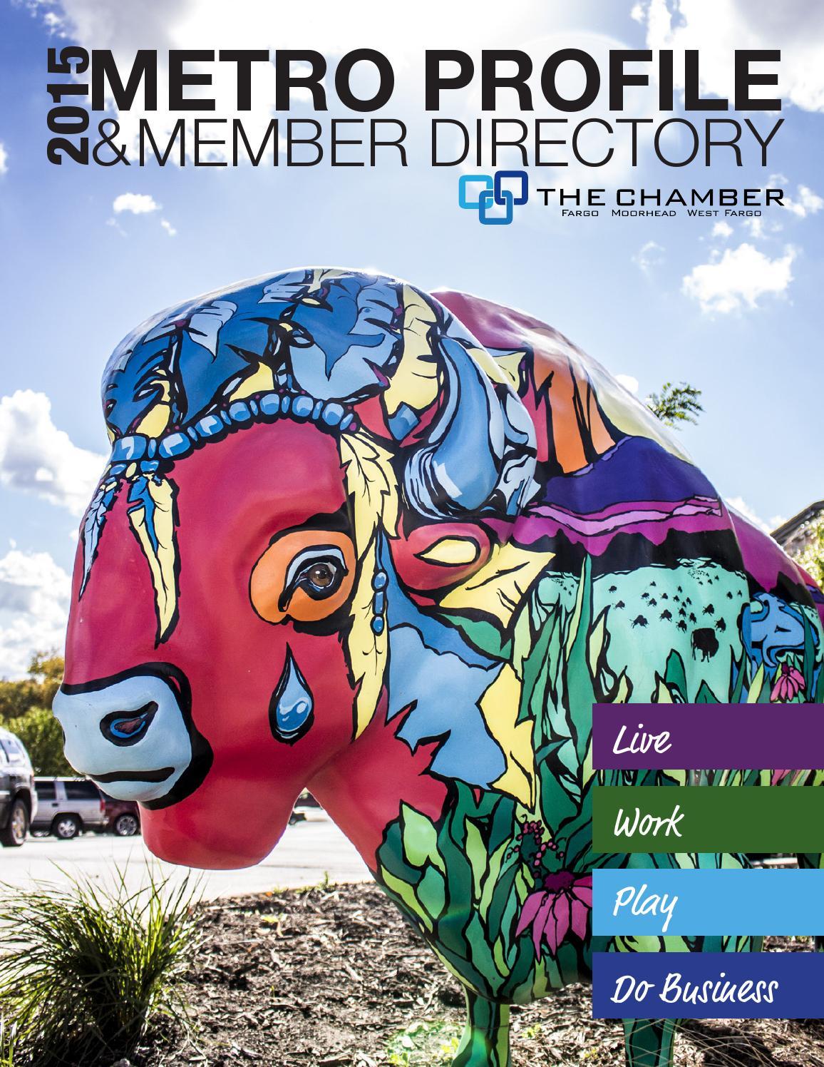 2015 Fargo Moorhead West Fargo Metro Profile & Directory by The FMWF ...