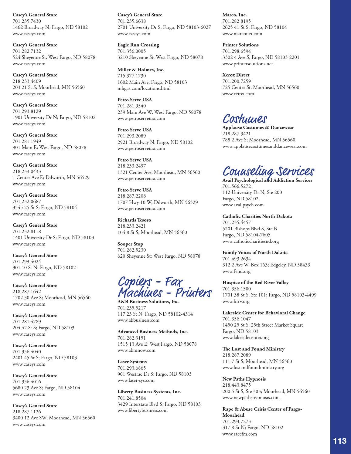 2015 Fargo Moorhead West Fargo Metro Profile Directory By The Fmwf