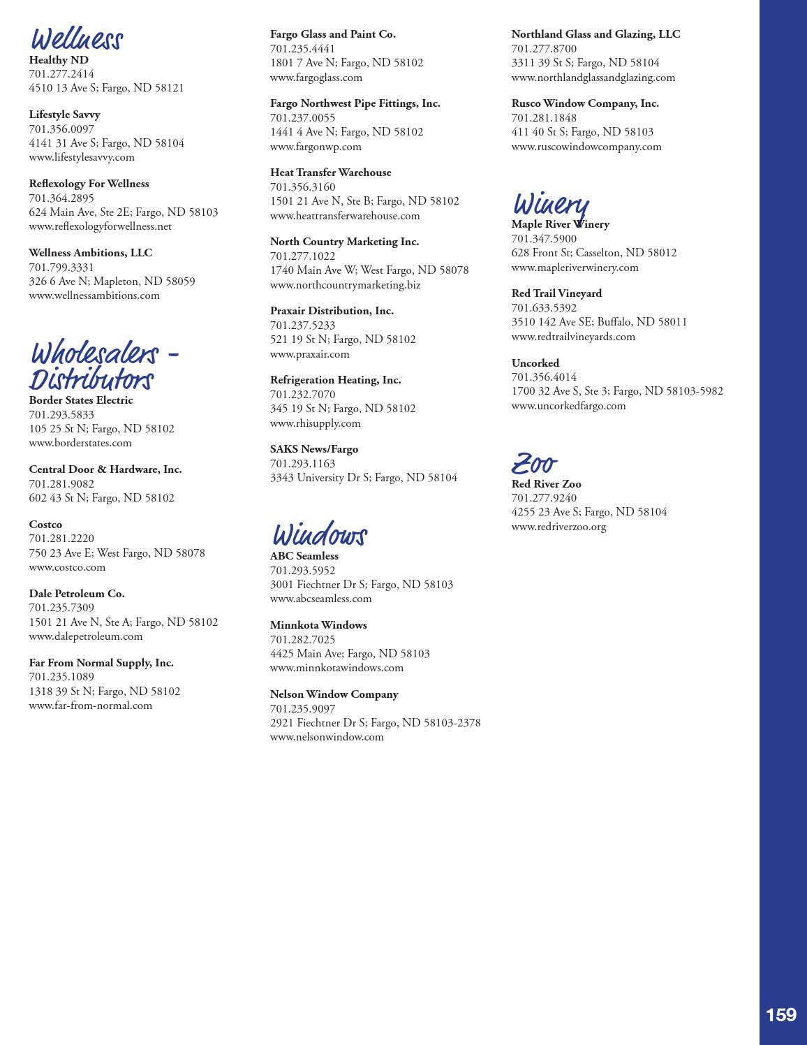 2015 Fargo Moorhead West Fargo Metro Profile & Directory by