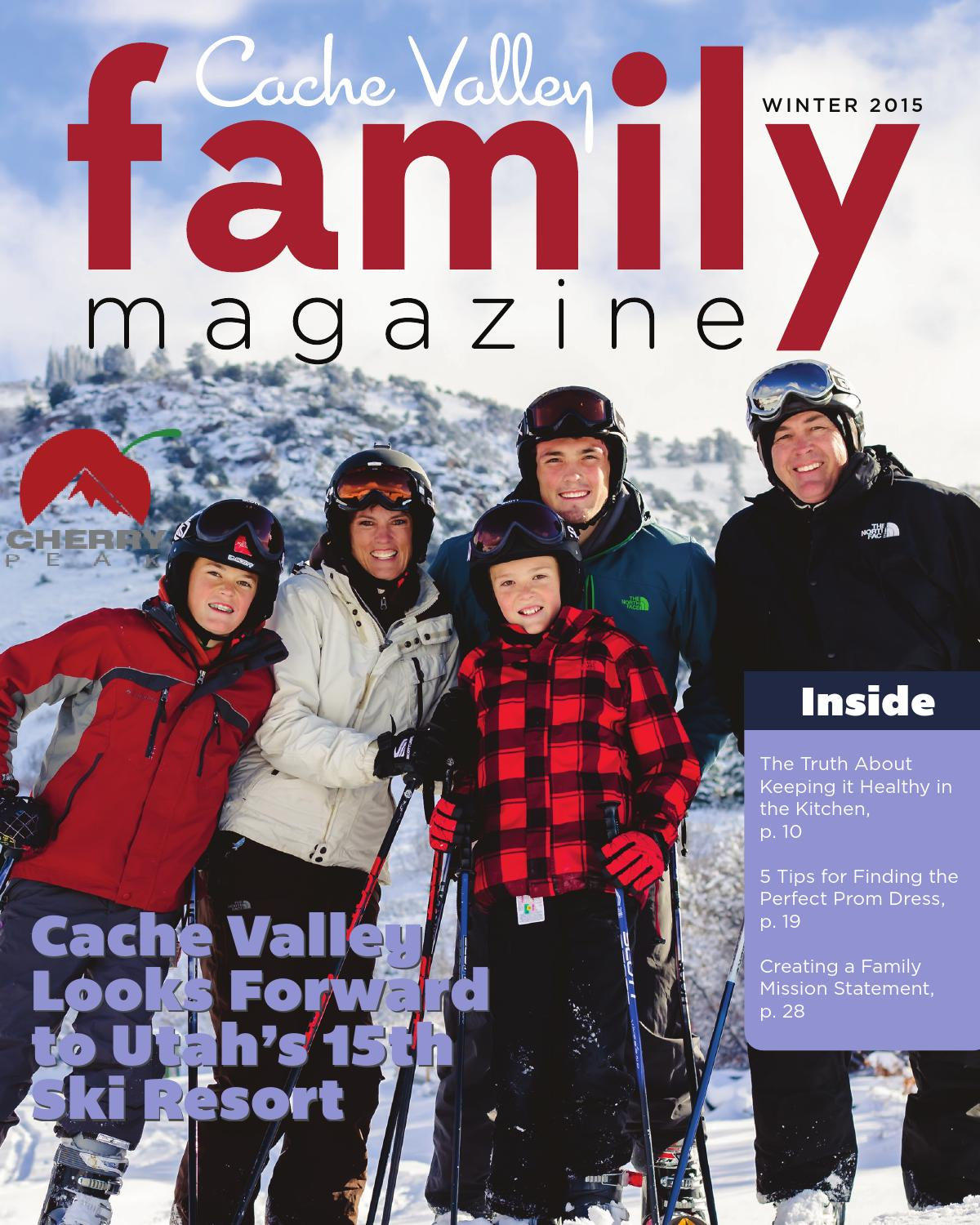 0fa6073f2224 Cache Valley Family Magazine Winter 2015 by Cache Valley Family ...