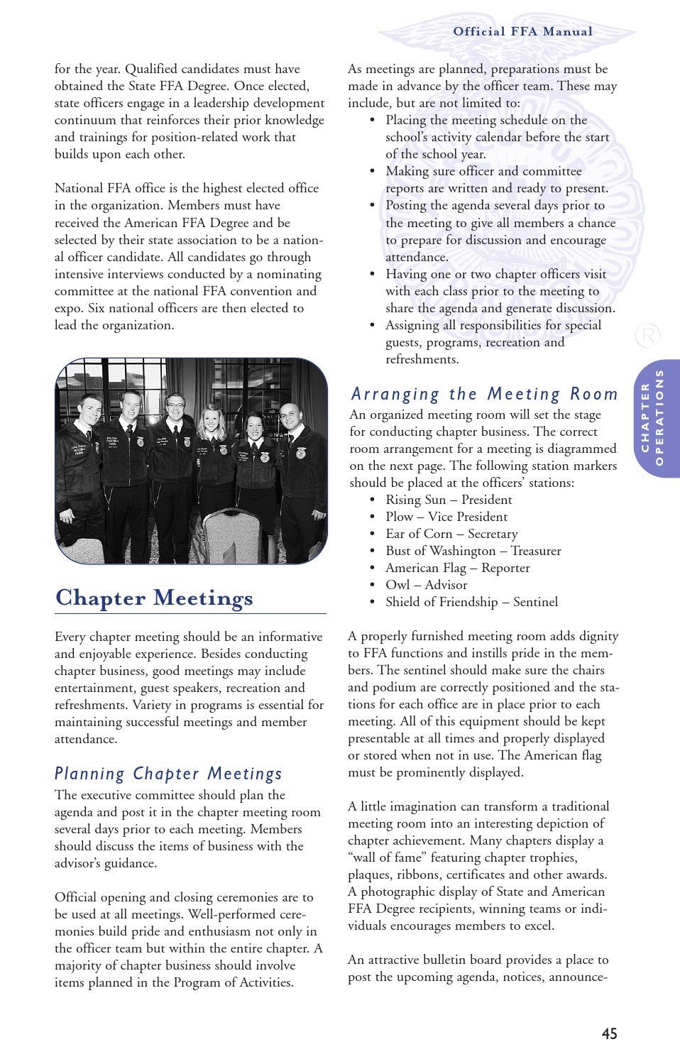 official ffa manual by national ffa organization issuu