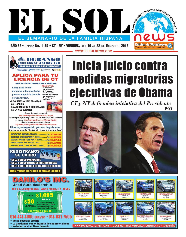 EL SOL News 1157 by EL SOL News - issuu