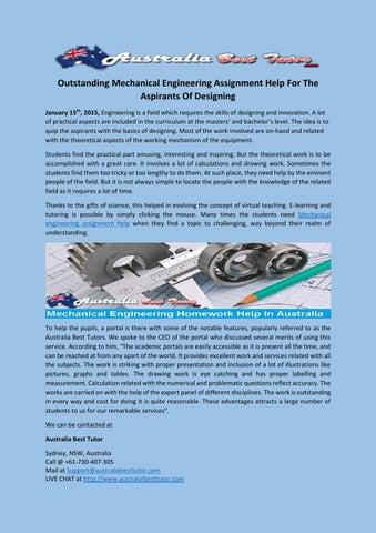 Mechanical Engineering Assignment Help - Mechanical-Engineering ...