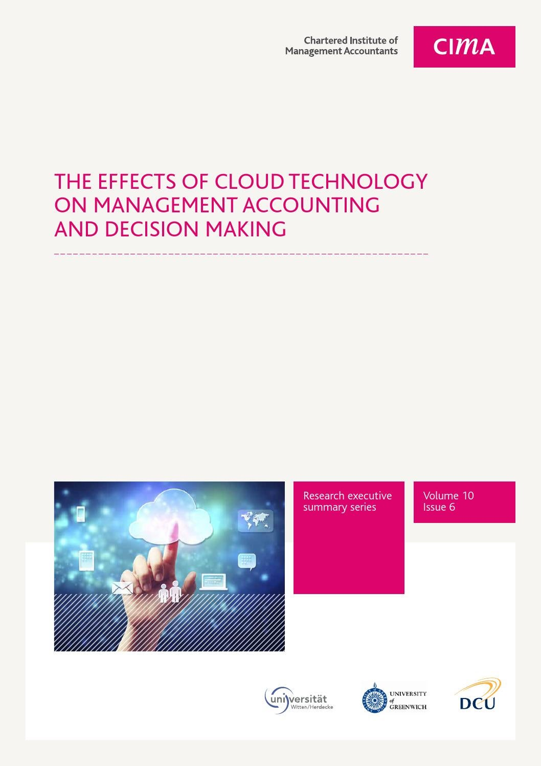 effects of technology on accounting Technology affects the accounting process in several ways first, the accounting methods and knowledge of the business and industr 34 saban m, efeoglu z an examination of the effects of information technology on managerial accounting in the turkish iron and steel industry.