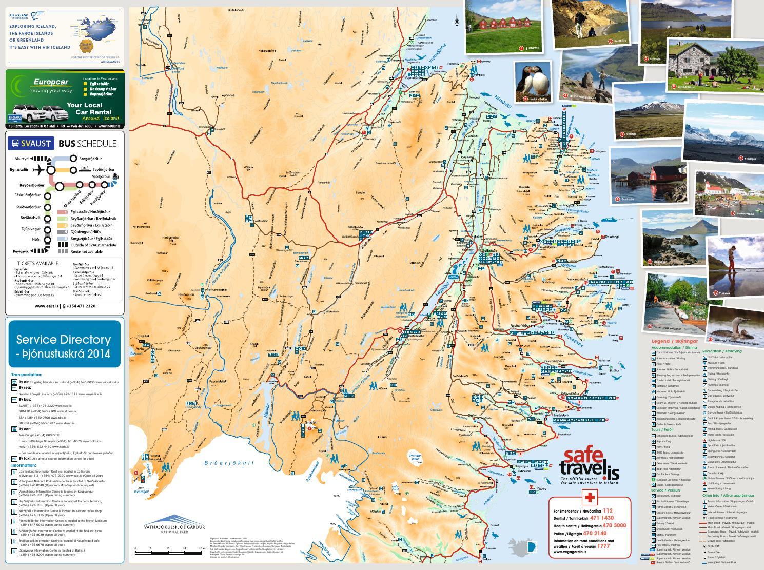 Austurland Kort 2014 By Austurbru Ses Issuu