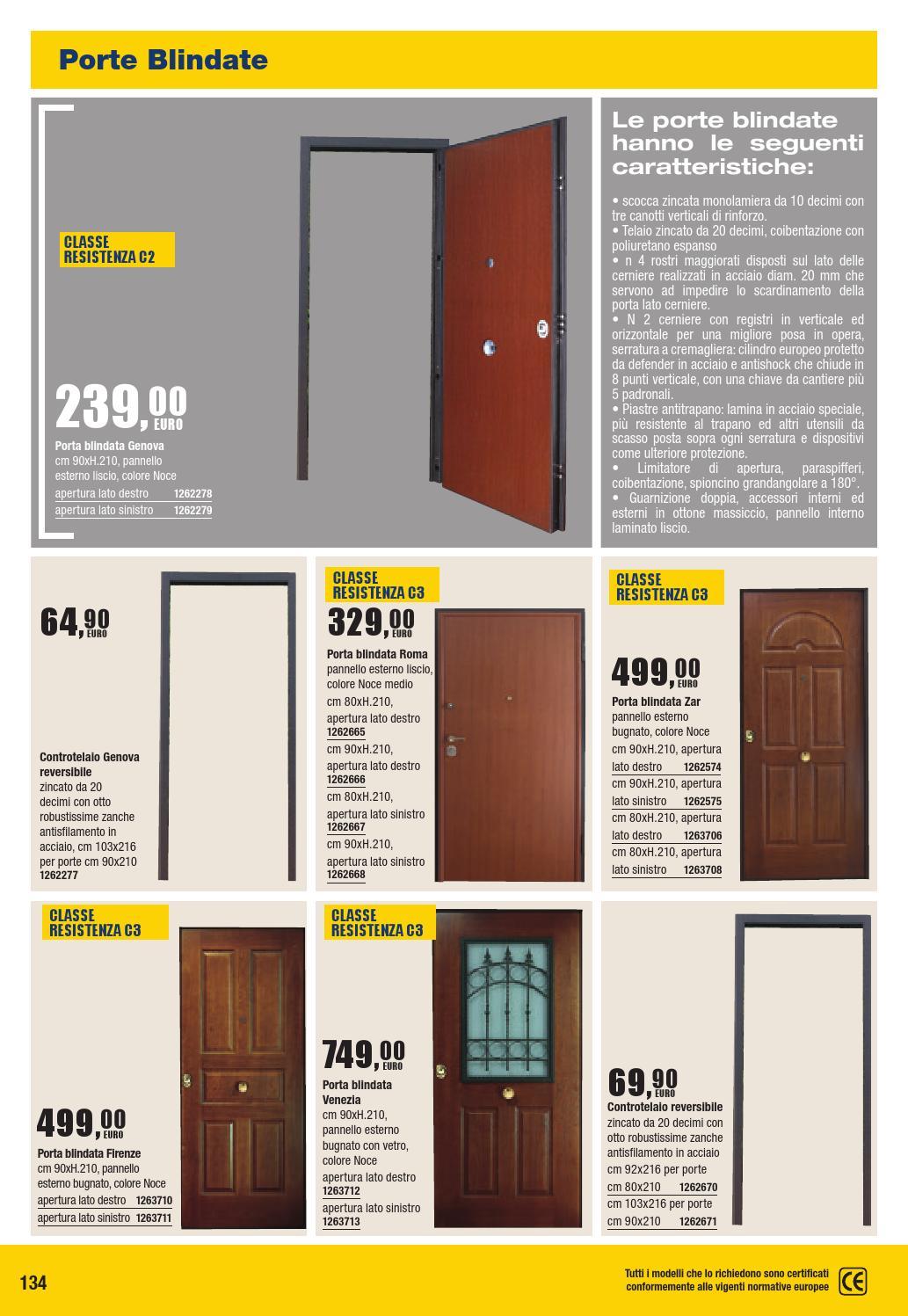 Colori Pannelli Porte Blindate catalogo tecnico by bricofer italia spa - issuu