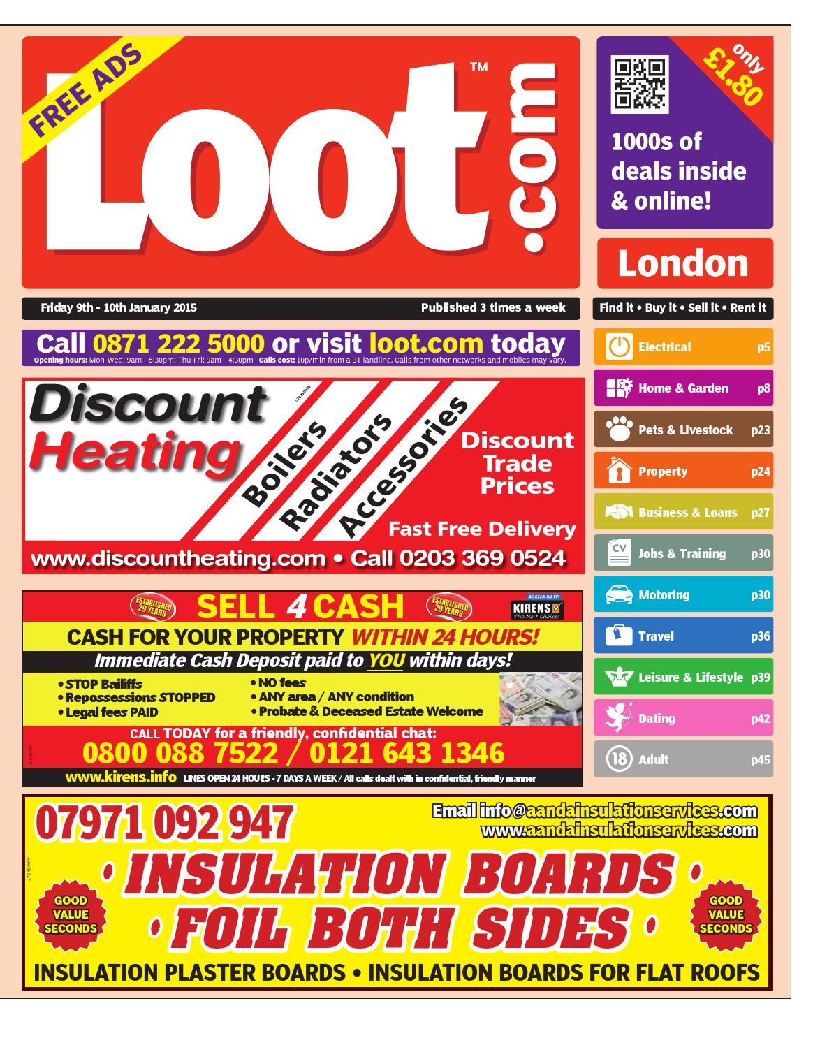 Loot london january 9th 2015 by loot issuu geenschuldenfo Image collections
