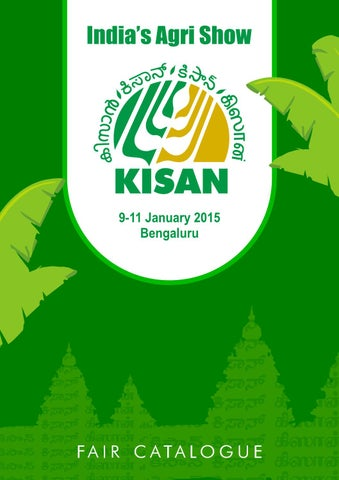 South Kisan 2015 Catalogue By Kisan Forum Pvt Ltd Issuu