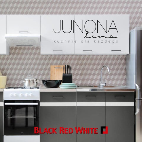 Black Red White Bucatarii Junona Line By Brw Romania Issuu