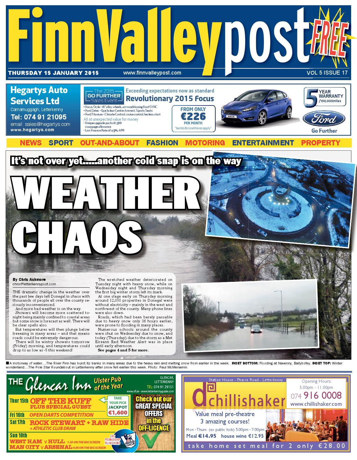 2acdddb60c18 15 Jan 2015 Finn Valley Post by River Media Newspapers - issuu