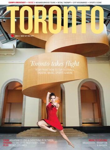 8a78f1296d6c4 Toronto Magazine 2014 by Tourism Toronto - issuu