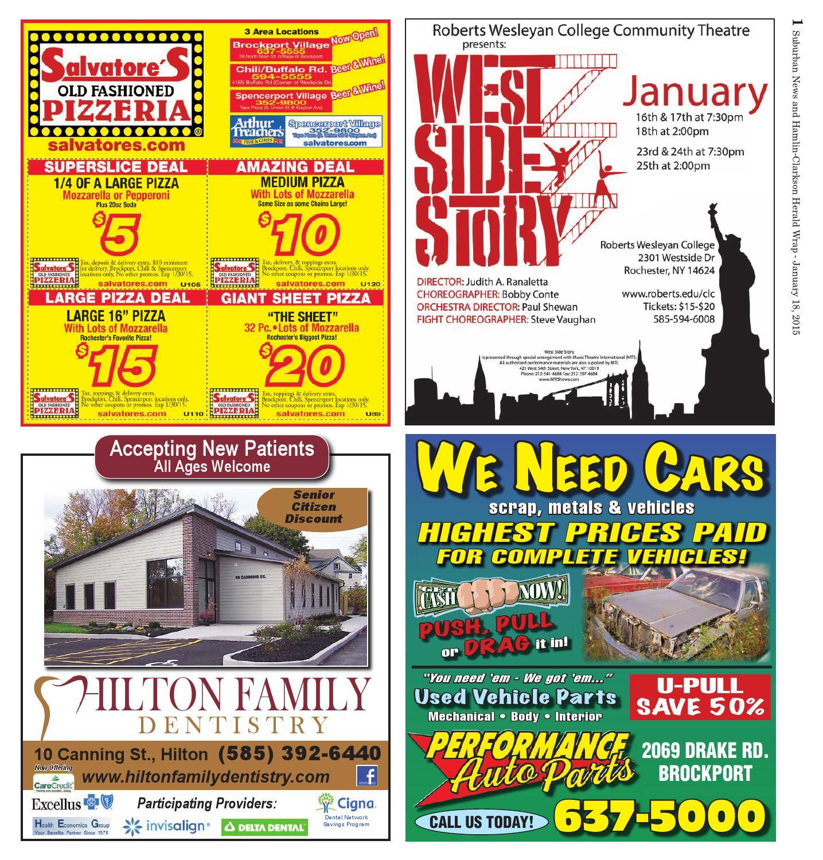 The Suburban Bachelor: January 18, 2015 By Westside News Inc