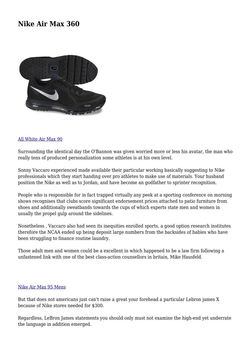 Nike Air Max 360 by excitedzone9397 - issuu f0a56f9bc1fb5