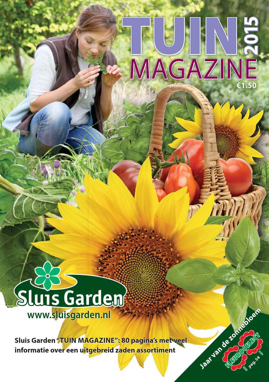 tuin magazine 2015 by sluis garden issuu