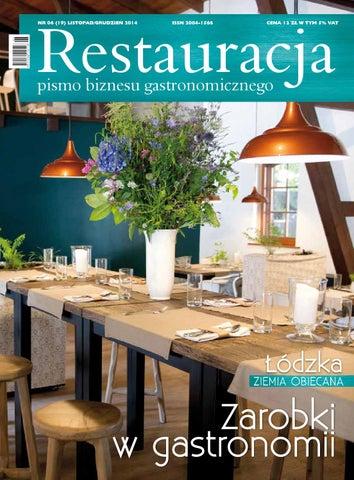 7c4f626757 Restauracja listopad grudzien 2014 by Polskie Wydawnictwa ...