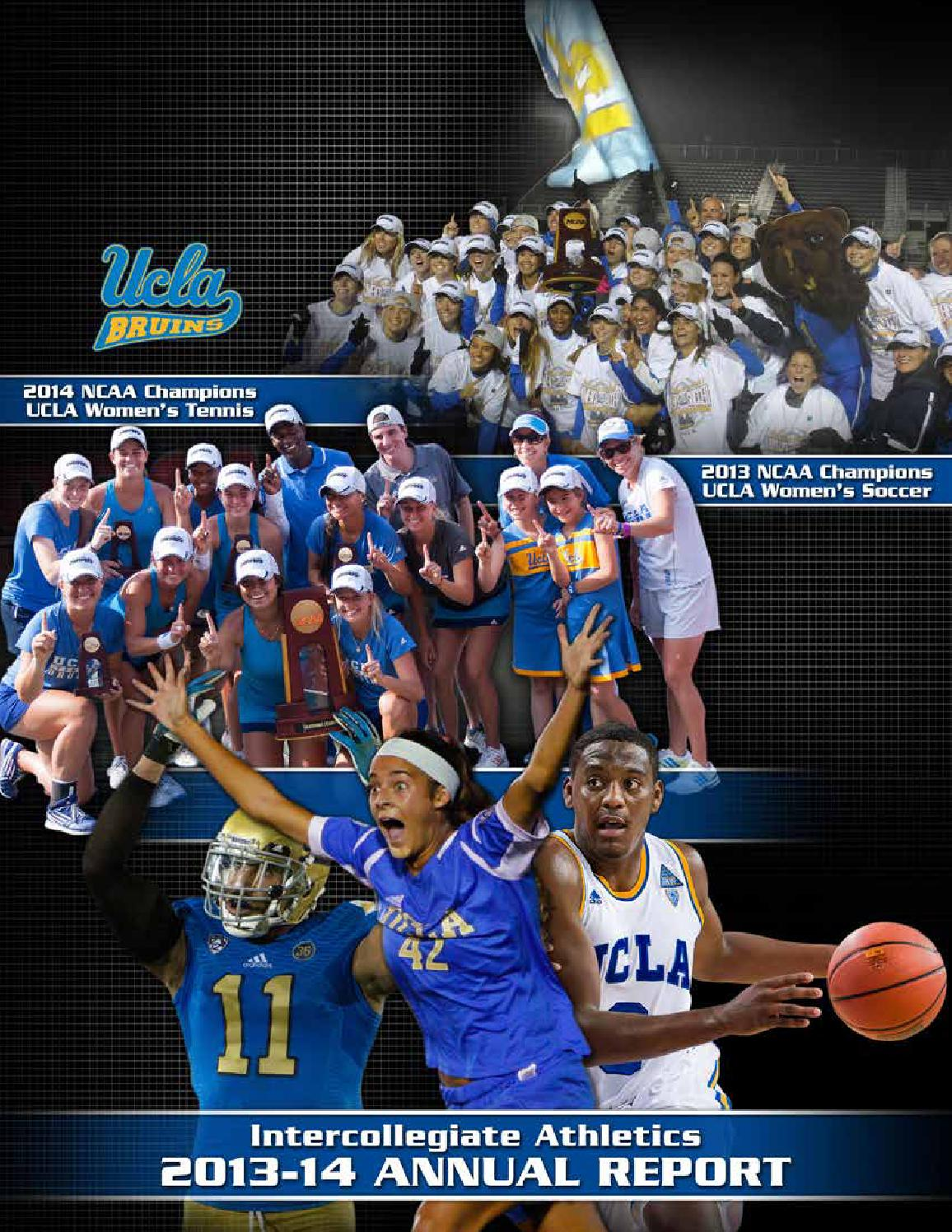 2013 14 UCLA Athletics Annual Report by UCLA Athletics issuu