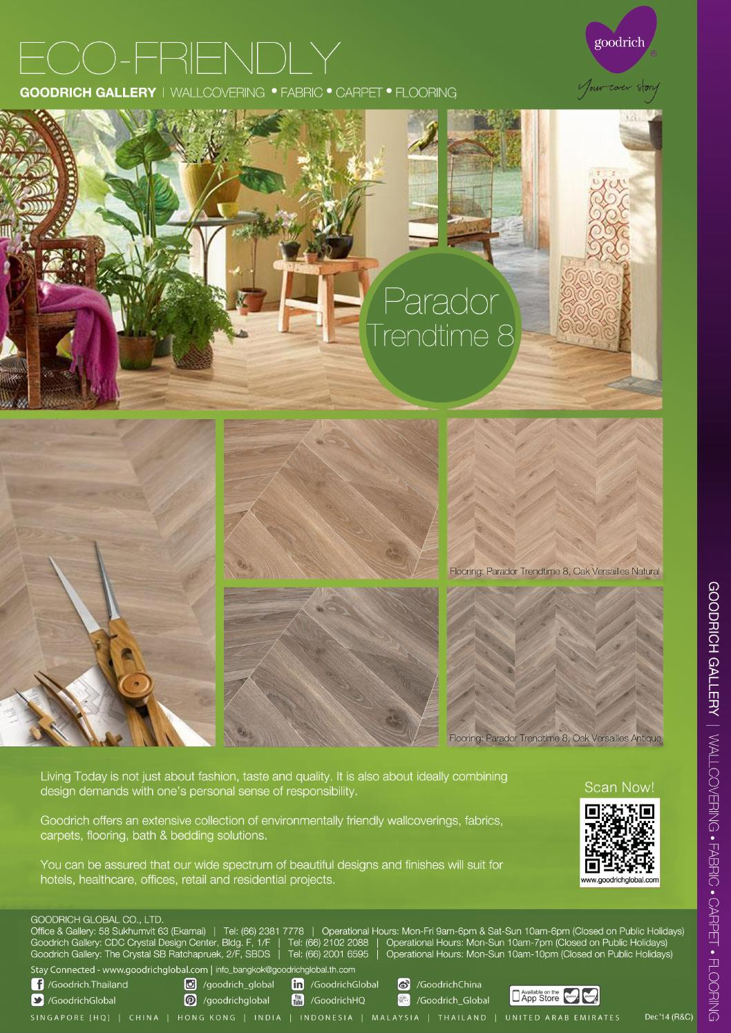 Flooring From Trendtime 8 Collection Parador Goodrich