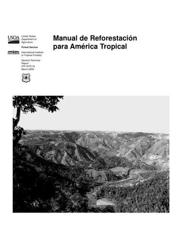Manual de reforestacion para américa tropical by Francisco Garin - issuu