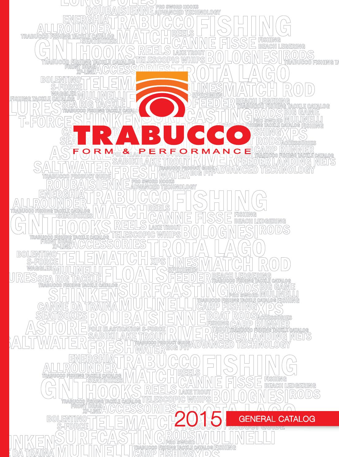 Trabucco Fishing Diffusion Catalogue 2015 Europe by Trabucco
