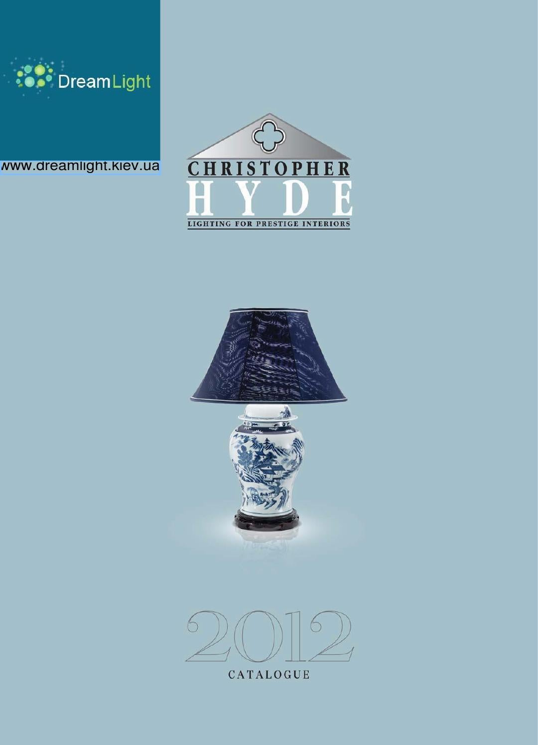 Christopher Hyde Brochure 2017 By Www Dreamlight Kiev Ua Issuu