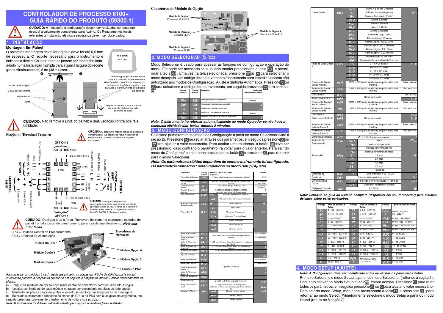 Controlador west p6100 manual portugues resumido by Veeder Root Manual em  Portugues - issuu