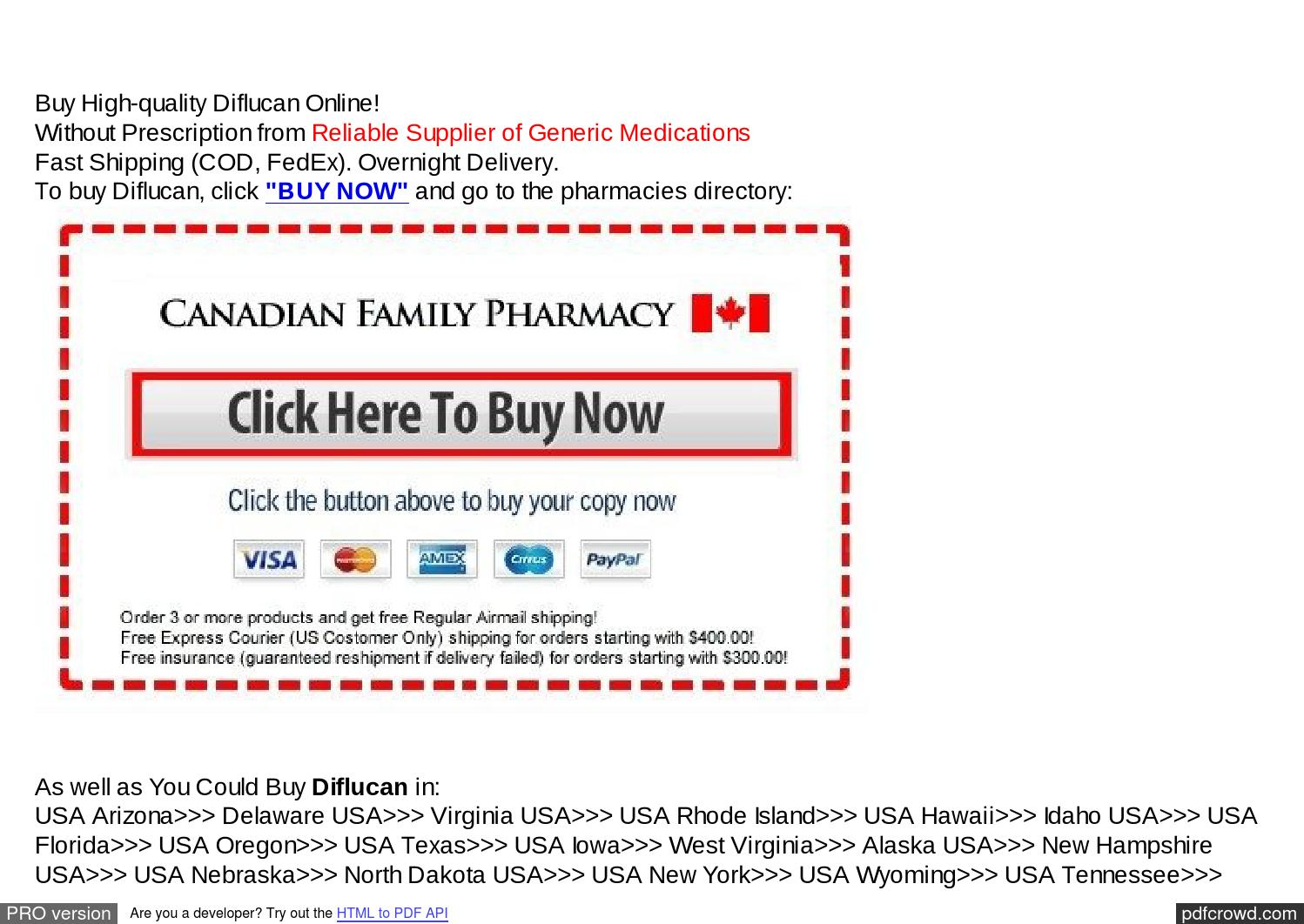 Buy Diflucan Pharmacy