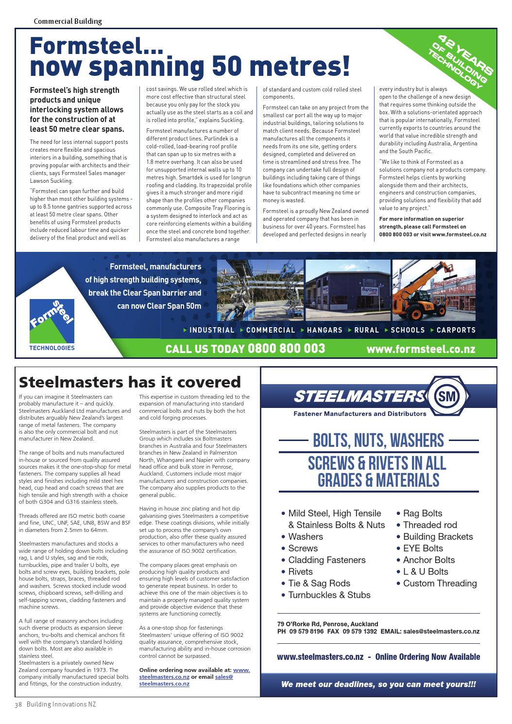 Building Innovations Summer 2014 by Waterford Press Limited