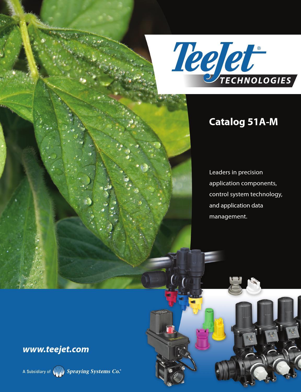 Teejet 51a M Catalog By Domdistribution Issuu