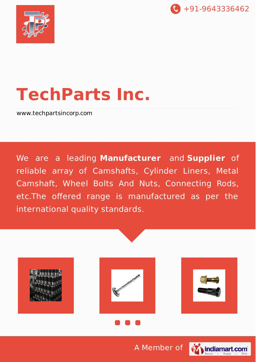Cylinder Liners by Techparts inc by Gursimran Sabharwal - issuu