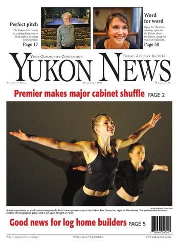Yukon News January 16 2015 by Black Press issuu