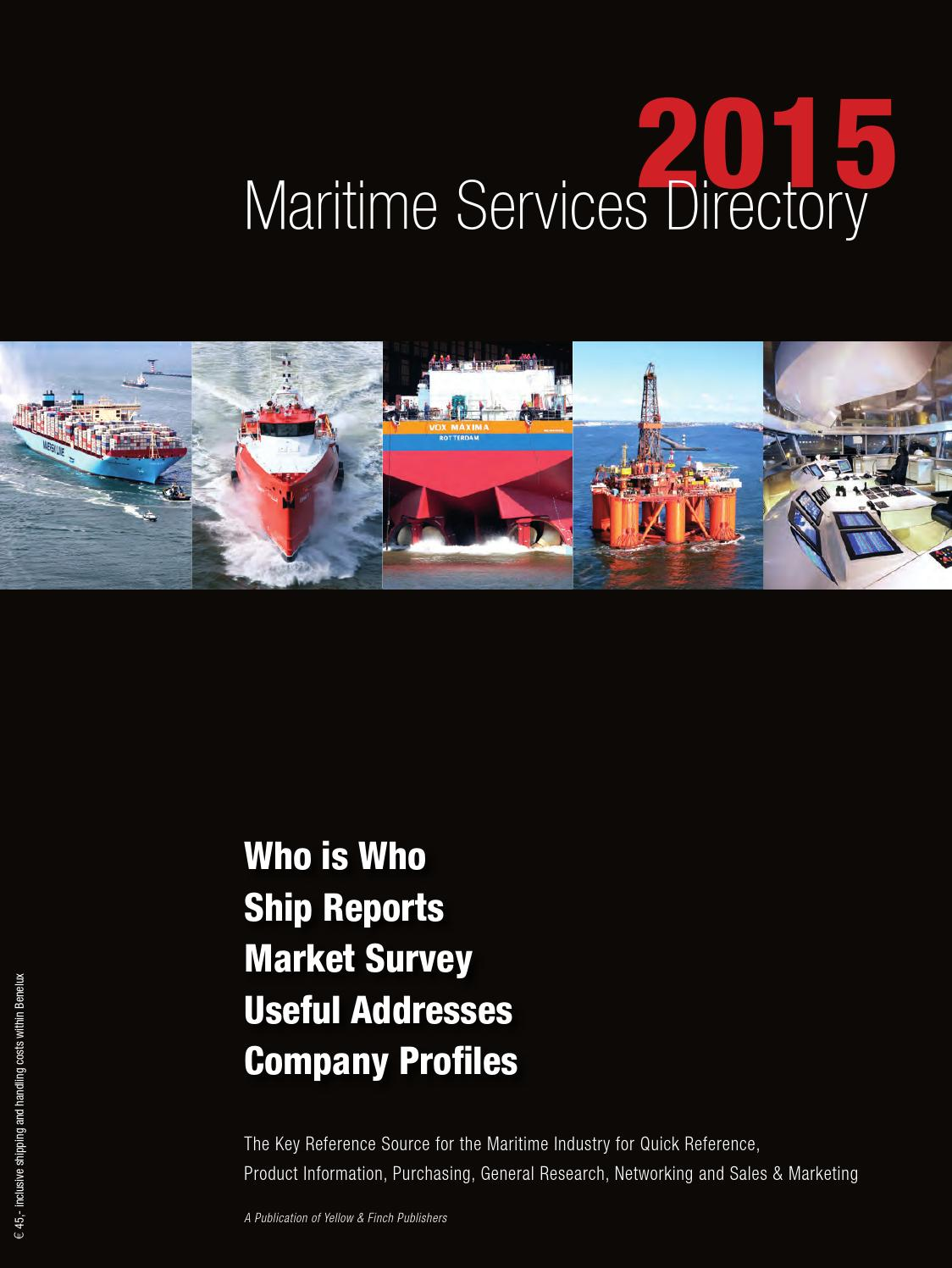 Maritime Services Directory 2015 By Yellow Finch Publishers Issuu Solar Cruise 160w Package Incl Pwm Controller Charges