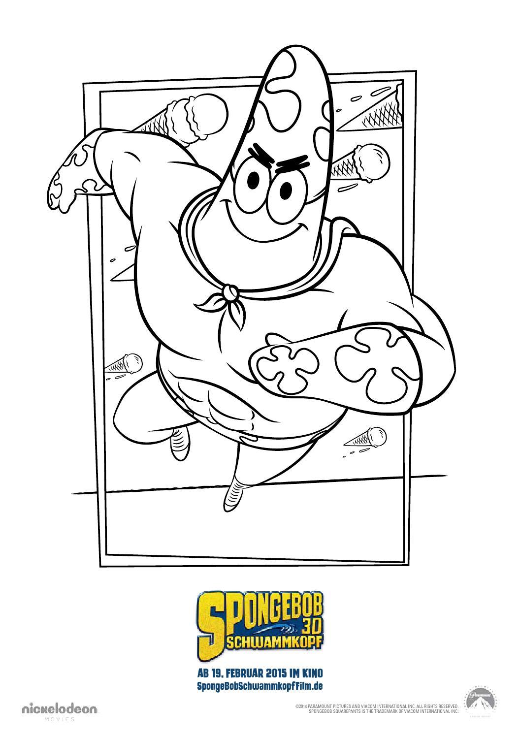 Spongebob ausmalbilder hoch by CINEPLEX - issuu