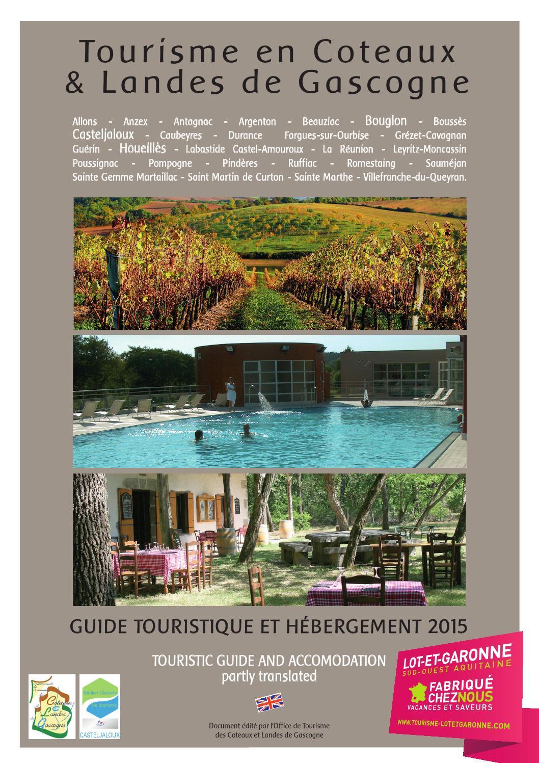 Guide touristique et h bergements 2015 casteljaloux - Office tourisme casteljaloux ...