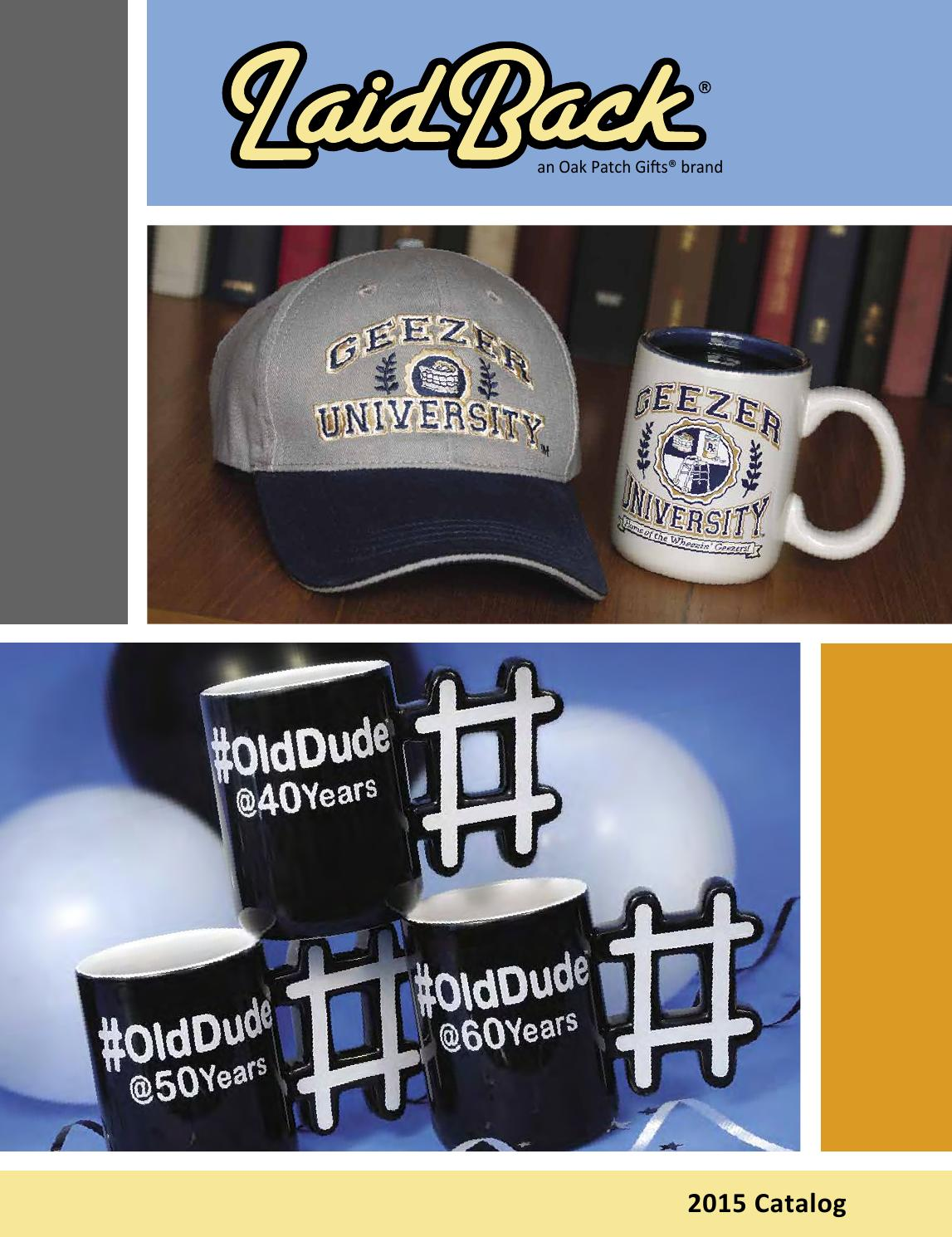 Oak Patch LaidBack Catalog Jan 2015 By Traditions