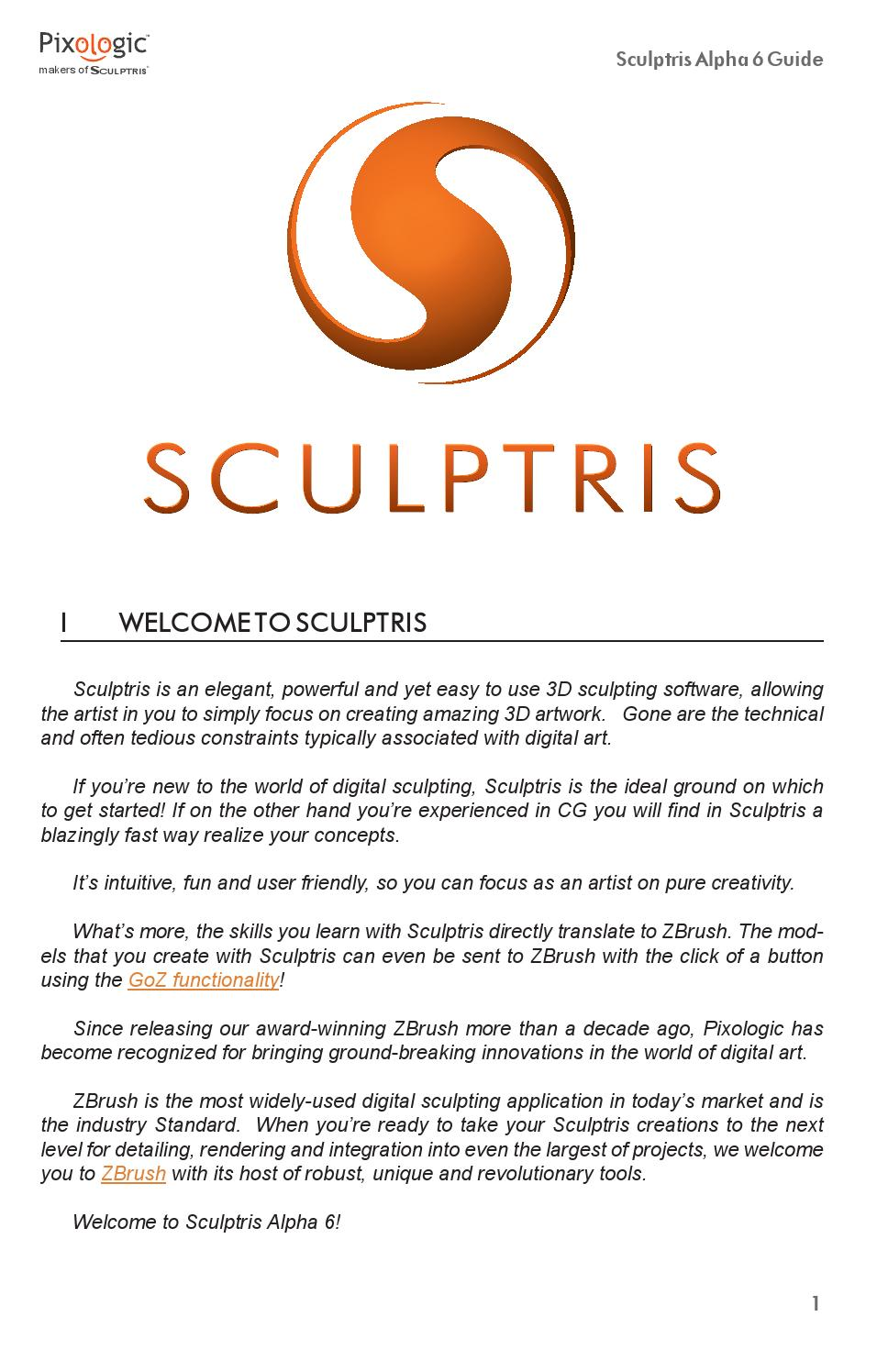 Sculptris alpha6 documentation by azkebi - issuu