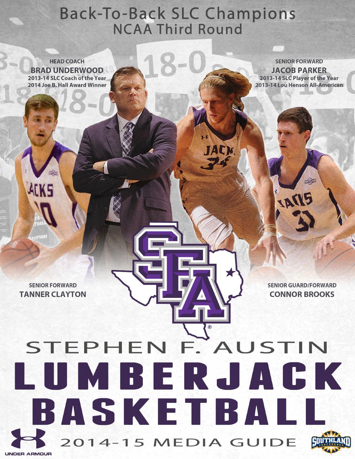 2f6316566 2014-15 SFA Men s Basketball Media Guide by SFA Athletics - issuu