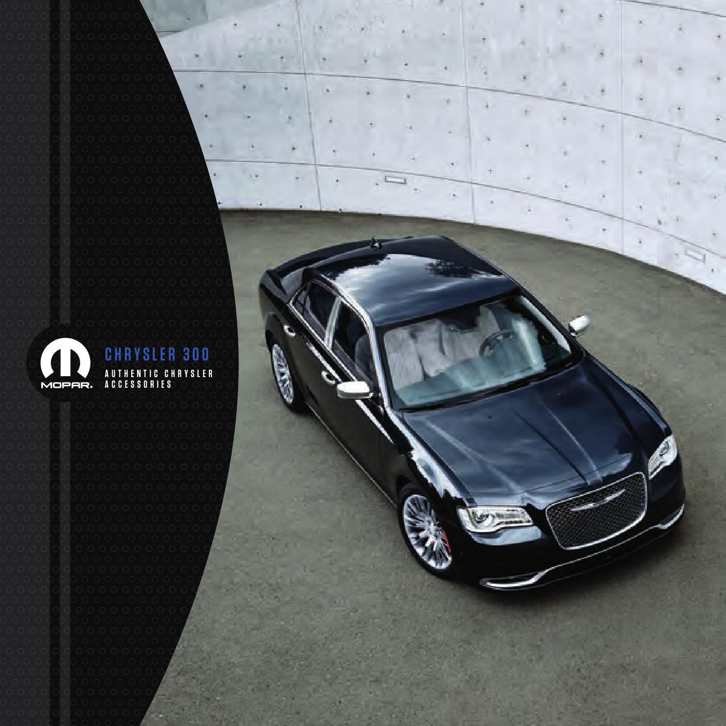 00pm4951 2015my Chrysler 300 Mopar Accessory Brochure 269