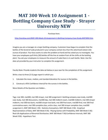 a case study of nigeria bottling company And profit or loss of coca-cola hellenic bottling company sa and of the undertakings the annual report of the board of directors is a true representation of the information required 1 one unit case corresponds to approximately 5678 litres or 24 servings, being a typically used measure of volume.