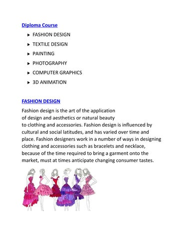 Fashion Designing Course In Jaipur By Kanak Rathore Issuu