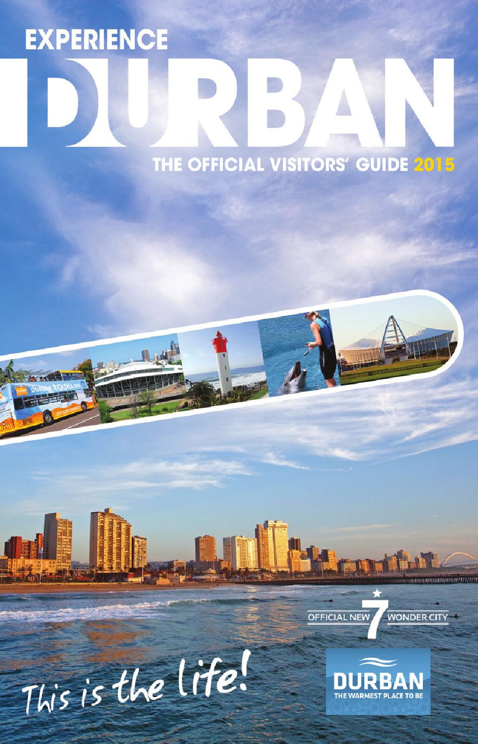 Experience Durban - The Official Visitors' Guide 2015 by Artworks - issuu