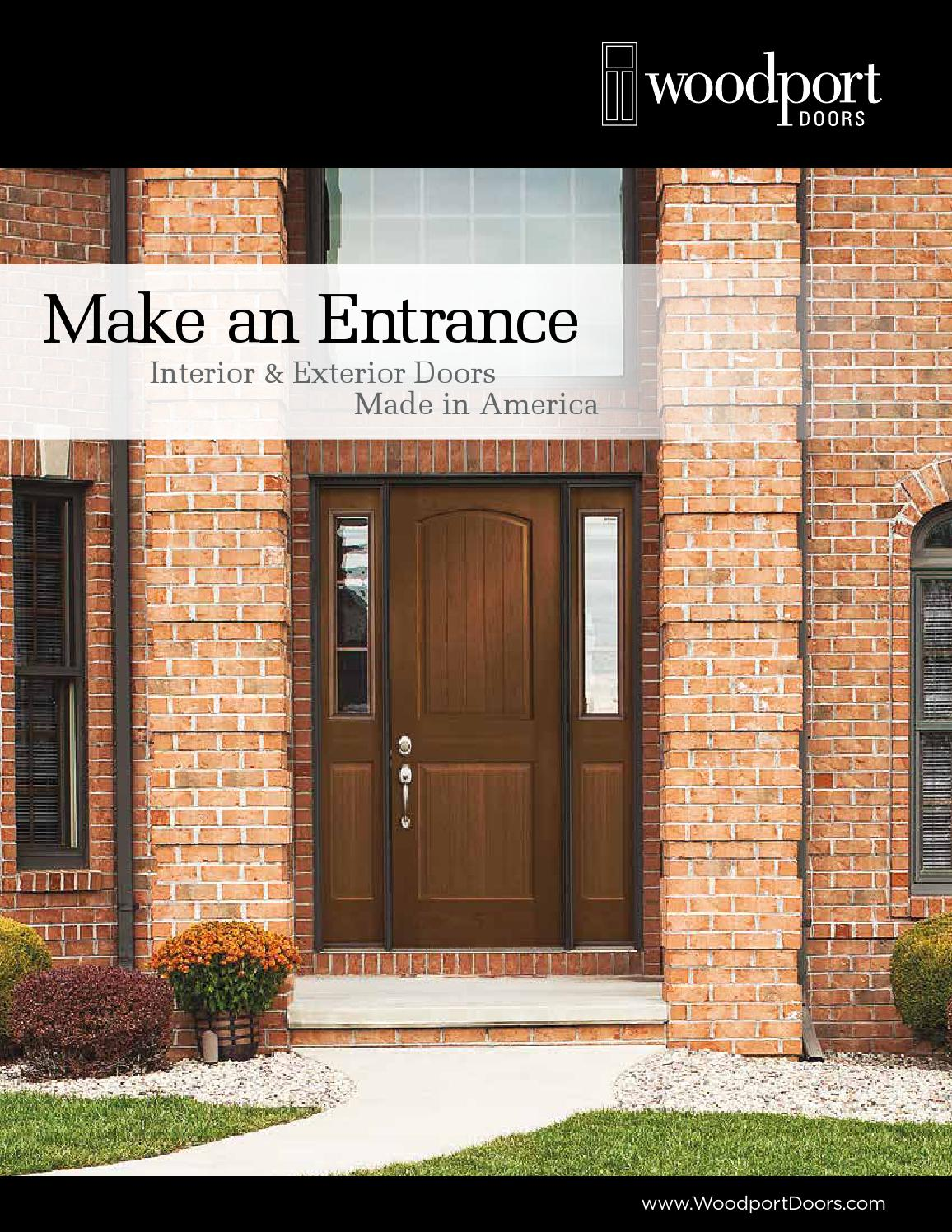 Woodport Doors Interior And Exterior Door Catalog