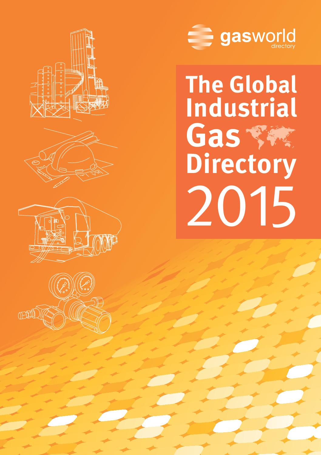 gasworld Global Industrial Gas Directory 2015 by gasworld