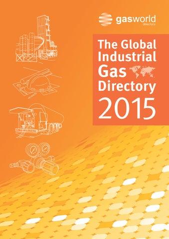 gasworld Global Industrial Gas Directory 2015 by gasworld ... on