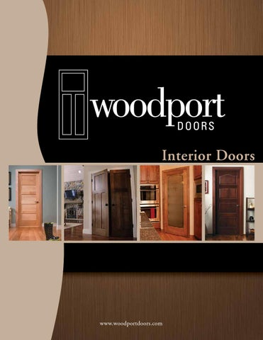Woodport Doors Interior Catalog