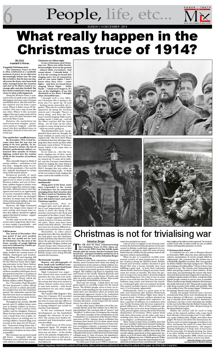 December 14 by The Morung Express - issuu